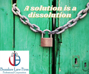 solution is a dissolution