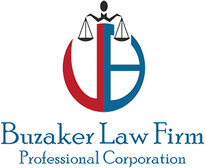 Buzaker Law Firm Logo
