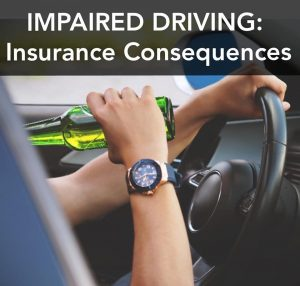 man being impaired behind the wheel
